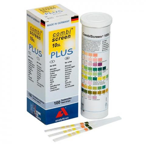 Test per Analisi urine e compresse stabilizzanti