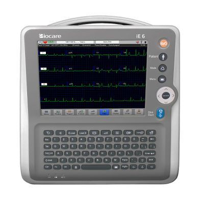 ECG Biocare iE6 - Elettrocardiografo a 6 canali Interpretativo