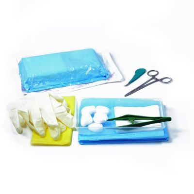 Kit monouso sterile per sutura