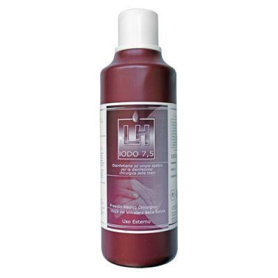 Disinfettante allo iodopovidone LH Iodio 75% - Flacone 500 ml