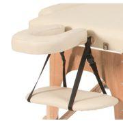 Kit poggiatesta + poggiabraccia per lettini pieghevoli in legno FLEX