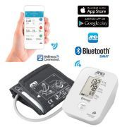Misuratore di pressione da braccio A&D UA-651BLE con Bluetooth