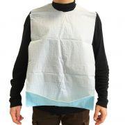 Bavaglio monouso con tasca e adesivi (conf. 600 pz.)