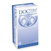 Guanti in lattice senza polvere DOC High Risk (conf.50 pz.)
