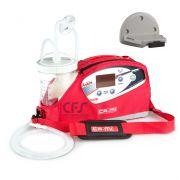 Aspiratore NEW ASKIR 118-WM a batteria/12V auto - Staffa Ambulanza - Vaso 1 lt