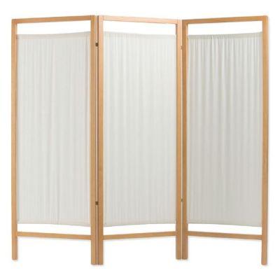 Paravento in legno STD con pannelli in cotone sanforizzato da I ...