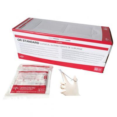Guanti chirurgici sterili in lattice con polvere OR Standard (conf.50 paia) f18305c0998d
