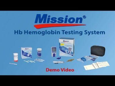 Apparecchio Misura Emoglobina Mission 1 Pz.