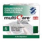 Strisce Multicare Colesterolo (5 strisce)