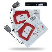Kit 2 coppia piastre + Batteria per defibrillazione LIFEPAK CRplus/Express - Adulto - Originali