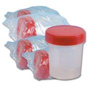 Contenitore Urine 120 ml - Camera bianca ISO8 (Conf. 250 pz)