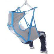 Imbracatura contenitiva IM120 per sollevamalati - in tela con stecche e poggiatesta