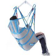 Imbracatura contenitiva IM130 per sollevamalati - in tela con stecche, fasce e poggiatesta