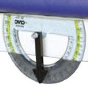 Goniometro per lettino da statica