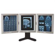 Negativoscopio Ultrapiatto LED da tavolo 42 x 36 - 3 pannelli