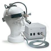 Lampada frontale HEINE MD 1000 a F.O. con caschetto Professional L