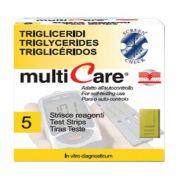 Strisce Multicare Trigliceridi (5 strisce)