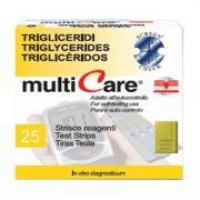 Strisce Multicare Trigliceridi (25 strisce)