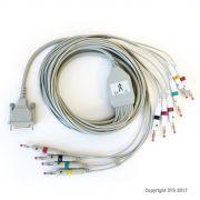 Cavo paziente ECG F8728 per elettrocardiografi MORTARA