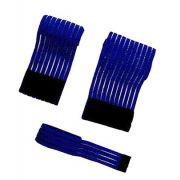 Fascia elasticizzata blu 100mm (altezza) x 600mm (lunghezza)