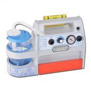 Aspiratore MINI ASPEED Evo Plus a batteria/12V, Staffa per Ambulanza - Vaso da 1 lt