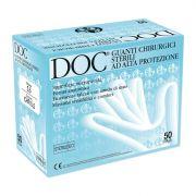 Guanti chirurgici sterili in lattice con polvere DOC (conf.50 paia.)