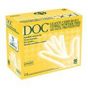 Guanti chirurgici sterili in lattice senza polvere DOC POWDER FREE (conf.50 paia)
