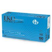 Guanti in nitrile senza polvere EKO Zero Powder Free (conf.100 pz.)