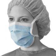 Mascherina chirurgica MEDLINE - Azzurra con lacci (conf. 50 pz)