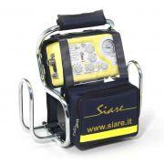 Supporto tubolare e bombola per letto/barella/ambulanza per SIRIO S2/T