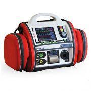 Monitor Defibrillatore RESCUE Life - Manuale/AED + ECG5,SpO2,NIBP e Pacemaker