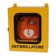Armadietto per defibrillatore da esterno
