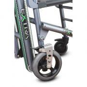 Staffa ruota Ø200 con freno per sedia Extra