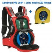 Defibrillatore Semiautomatico HEARTSINE Samaritan PAD 350P + Zaino AED Rescue