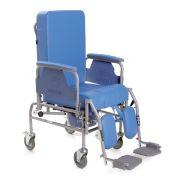 Sedia comoda KOMODA con schienale reclinabile - Ruote Ø 12,5 cm - RC225