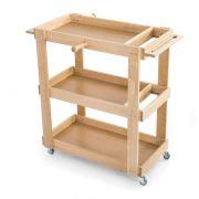 Carrello in legno per attrezzatura da ginnastica