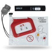 Kit 1 coppia piastre + Batteria per defibrillazione LIFEPAK CRplus/Express - Adulto - Originali