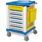 Carrello Terapia KARREL K816280 - Small con 15 contenitori portafarmaci