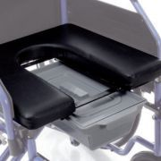 Seduta rigida con WC per carrozzine ARDEA serie CP